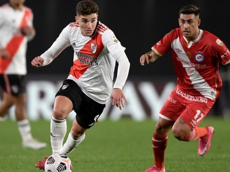 River eliminó a Argentinos tras ganar 2-0 la vuelta con doblete de Brian Romero por Copa Libertadores