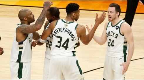 Milwaukee Bucks. (Getty)
