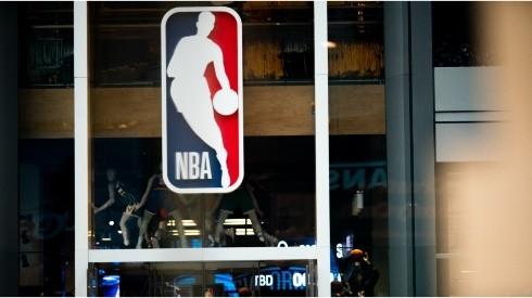 NBA logo. (Getty)