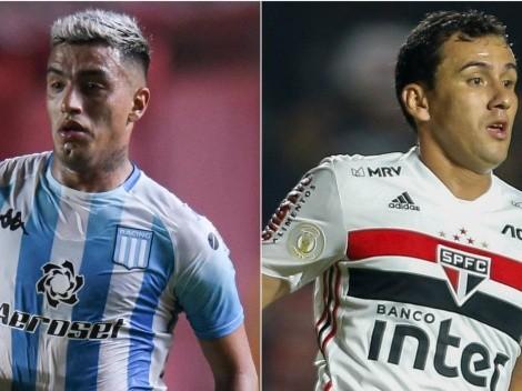 São Paulo vence o Racing por 3 a 1 e está nas quartas de final da Copa Libertadores