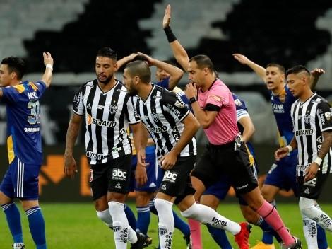 Mineiro sin Vargas vence en penales a Boca y está en cuartos de Libertadores