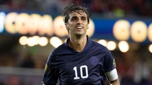 Costa Rica's veteran star Bryan Ruiz put his side in front in the game. (Twitter @GoldCup)
