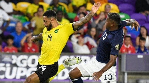 Costa Rica defeated Jamaica to win Group C of the 2021 Gold Cup. (Getty)