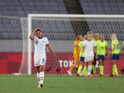 ¡Sin arquera! El gol que se perdió Estados Unidos en la aplastante derrota del debut en Tokio 2020
