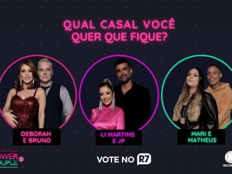 Power Couple Brasil 5: Enquete parcial aponta qual casal deve ser o último eliminado do programa apresentado por Adriane Galisteu