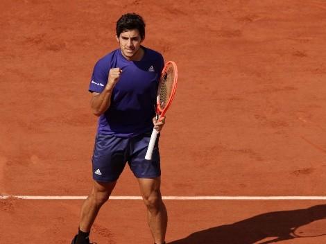 Cristian Garin tuvo un sólido debut en el ATP 250 de Gstaad