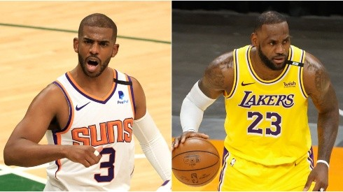 Will Chris Paul join LeBron's Lakers next season? (Getty)