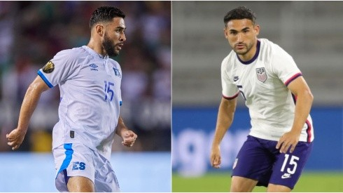 Alex (left) and Cristian Roldan fancy the chance of meeting in the 2021 Gold Cup. (concacaf.com / Twitter @USMNT)
