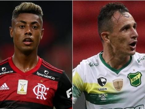 Flamengo vence o Defensa y Justicia por 4 a 1 e espera Inter ou Olimpia nas quartas de final
