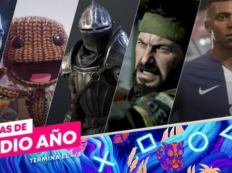 Comienzan las ofertas de Medio Año con juegos de PS4 y PS5 en la PlayStation Store
