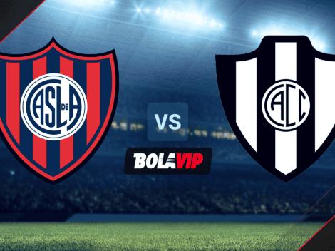 VER HOY San Lorenzo vs. Central Córdoba por la Liga Profesional 2021: horario y canales de TV
