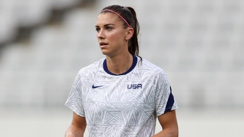 Alex Morgan hopes to lead the USWNT to glory at Tokyo 2020. (Getty)
