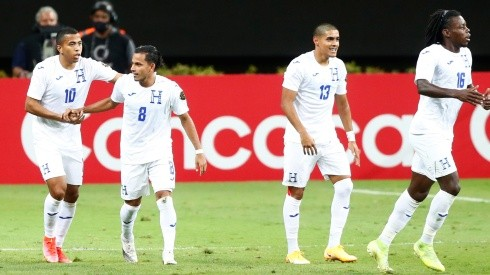 Honduras team at the 2020 Concacaf Men's Olympic Qualifying Tournament. (Getty)