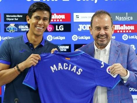Sequía para JJ Macías: segundo amistoso y sin goles con Getafe