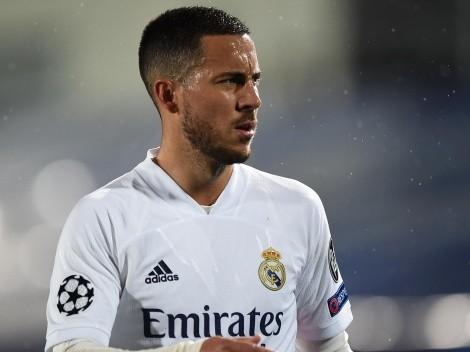 Em baixa no Real Madrid, Hazard é oferecido a time da Premier League