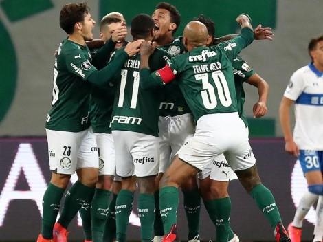 El campeón sigue en competencia, Palmeiras venció a Católica y clasificó a cuartos