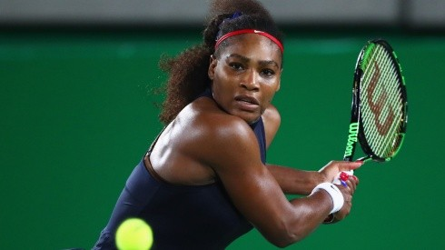 Serena Williams at the 2016 Rio Olympics (Getty).