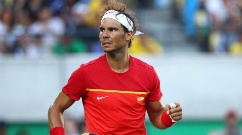 Rafael Nadal at 2016 Rio Olympics (Getty).