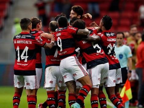 Con Isla de titular: Flamengo se impone a Defensa para clasificar a cuartos de Libertadores