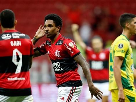 Flamengo se impuso con autoridad y eliminó a Defensa luego de un 4 a 1