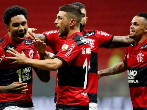 Flamengo goleia Defensa y Justicia e está nas quartas da Copa Libertadores; veja os gols