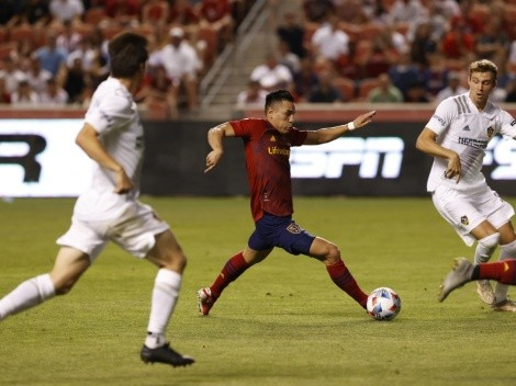 "LA Galaxy empata ante Real Salt Lake sin ""Chicharito"" Hernández"