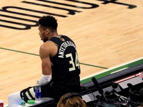 ¿El nuevo Flu Game? Giannis hizo 50 puntos en Finales enfermo como Jordan
