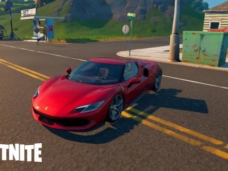 Primer vistazo al auto Ferrari que llega a Fortnite en la nueva colaboración