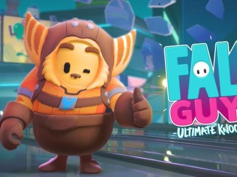 Fall Guys tendrá un evento para conseguir las skins de Ratchet & Clank gratis