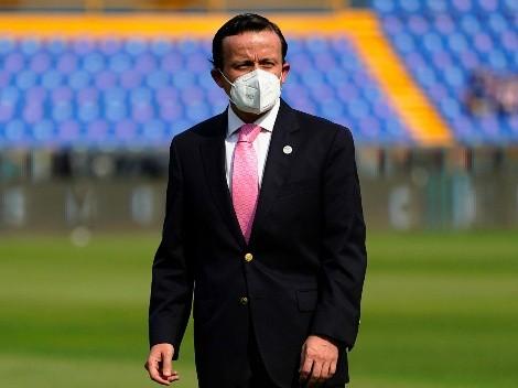 Mikel Arriola, presidente de la Liga MX, dio positivo de Covid-19