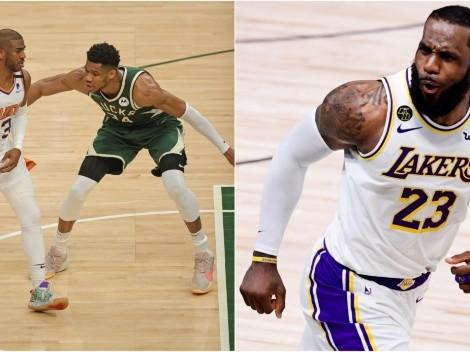 Giannis Antetokounmpo y Chris Paul derrotan a LeBron James en rating de NBA Finals
