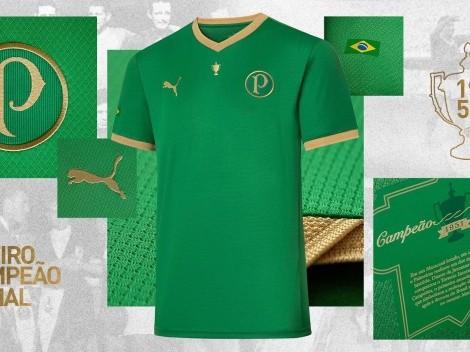 Em comemoração aos 70 anos do título de 1951, Palmeiras lança camisa comemorativa; veja fotos