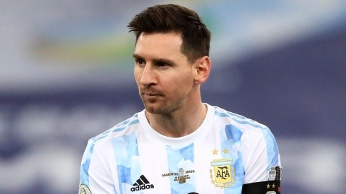 Lionel Messi is not playing at Tokyo 2020 for Argentina. (Getty)
