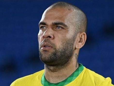Dani Alves, enamorado del Tri olímpico por su trato de pelota, quiere la revancha por Londres 2012