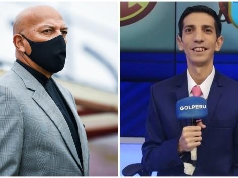 """Roberto Mosquera respondió a Giancarlo Granda, tras calificar de """"mediocre"""" a Arsenal de Sarandí"""
