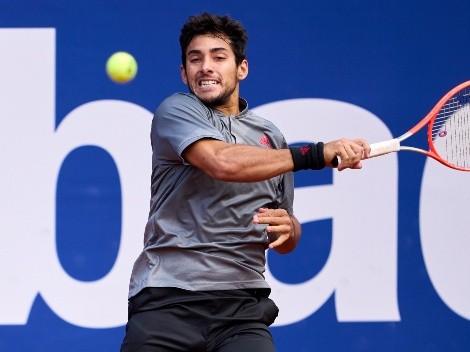Cristian Garin quedó eliminado del ATP de Gstaad tras caer con Hugo Gaston