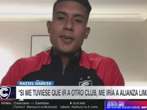 """""""Hubo conversaciones, pero..."""": Raziel García y su posible llegada a Alianza Lima"""