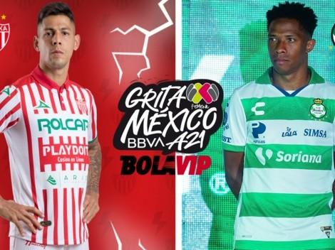 ◉ EN VIVO: Necaxa vs. Santos Laguna por la Liga MX   Grita México   Jornada 1   Transmisión   VER AHORA