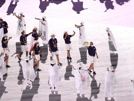 Team Chile: Así fue el desfile en los Juegos Olímpicos de Tokio 2020