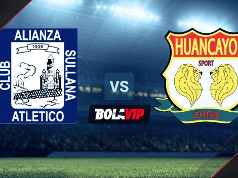 EN VIVO Alianza Atlético vs. Sport Huancayo por la Liga 1