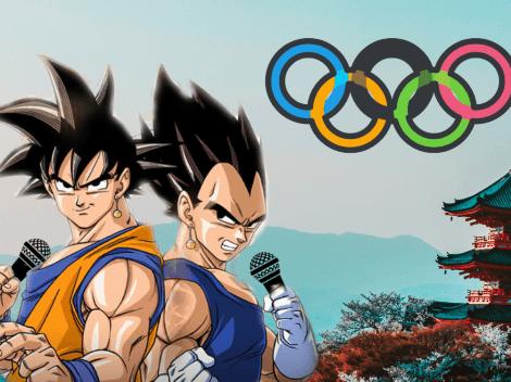 Goku y Vegeta narran lo mejor de la inauguración de las Olimpiadas