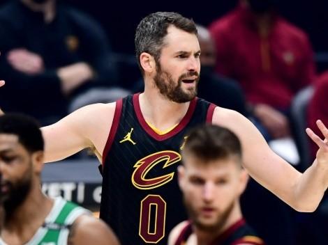 Los planes que tendrían los Cleveland Cavaliers con Kevin Love