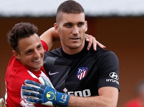 Santiago Arias volvió a las canchas con Atlético de Madrid y anotó gol en ronda de penales