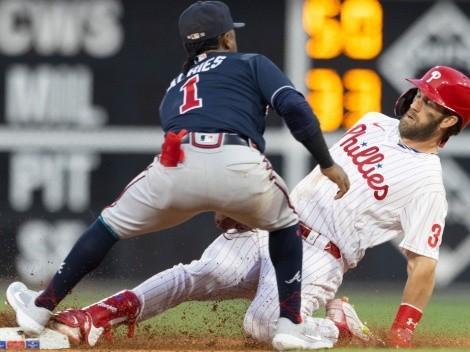 Bryce Harper se robó tres bases en un juego e igualó una marca para los Phillies