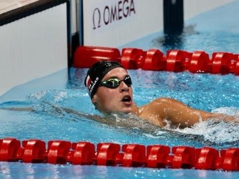Ganó, pero no pudo: El debut del nadador chileno Eduardo Cisternas