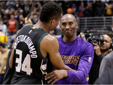 Kobe Bryant once raved about Giannis Antetokounmpo's incredible work ethic