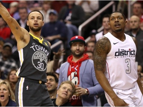 Warriors News: Bradley Beal, Stephen Curry & Klay Thompson are a real possibility