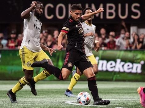 Columbus Crew gana y aumenta la racha negativa del Atlanta United