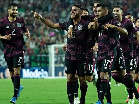 El Tri goleó a Honduras y avanzó a las semifinales