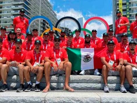 Polémica por una foto de la Selección Mexicana de Beisbol antes del debut olímpico